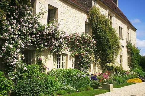 Les jardins du manoir de la bonnerie a garden in north for Le jardin de la france