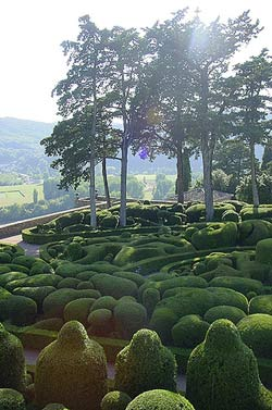 les jardins de marqueyssac dordogne garden. Black Bedroom Furniture Sets. Home Design Ideas