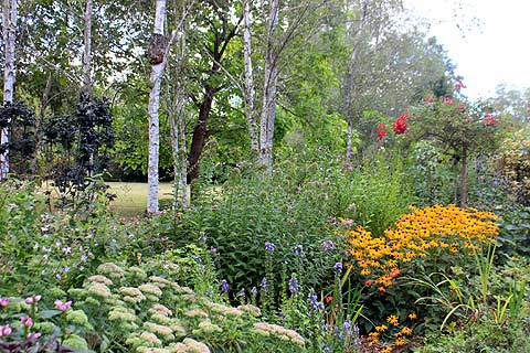 Les jardins tranquille a riverside garden in the dordogne for Jardin a visiter
