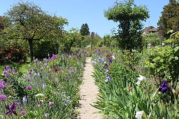 Monet's flower garden at Giverny