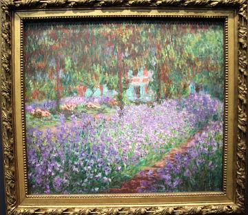 Le jardin de l'artist à Giverny