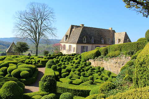 Clipped box at Marqueyssac