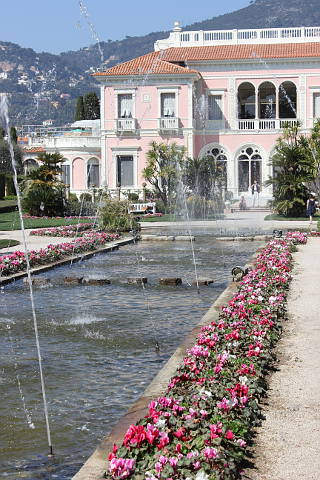 Garden of the Villa Ephrussi de Rothschild