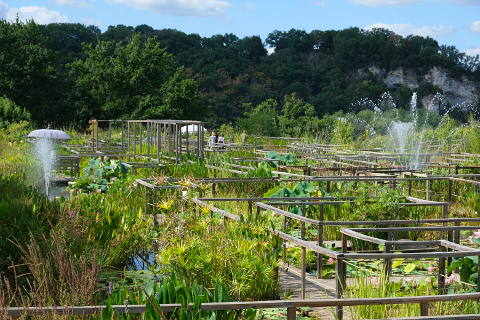 Les Jardins D Eau De Carsac A Water Garden In The Dordogne