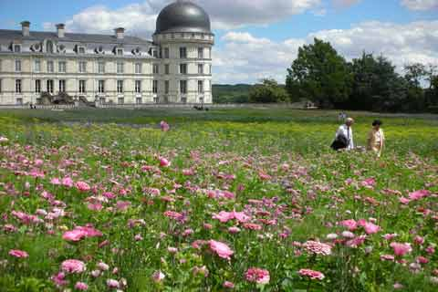 Photo of Gardens of the Chateau de Valencay in Cental France