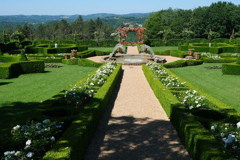 Photo of Les Jardins du Manoir d'Eyrignac in South West