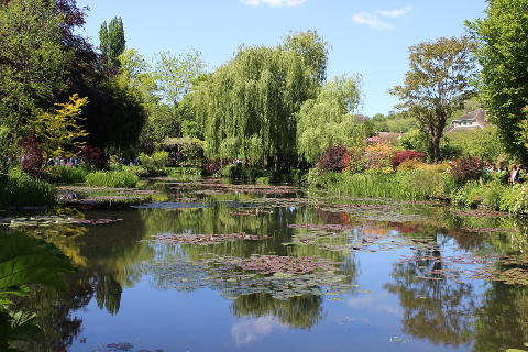 Photo of Monets Garden at Giverny