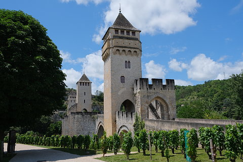 Garden trail of Cahors