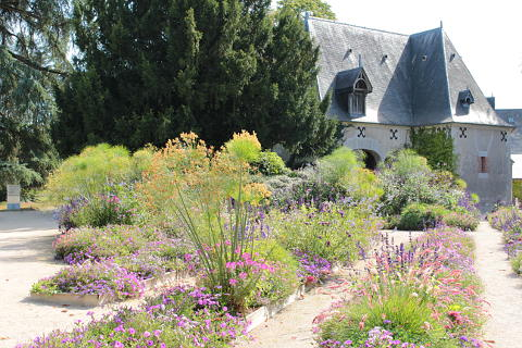 Permanent planting at the Chateau de Chaumont