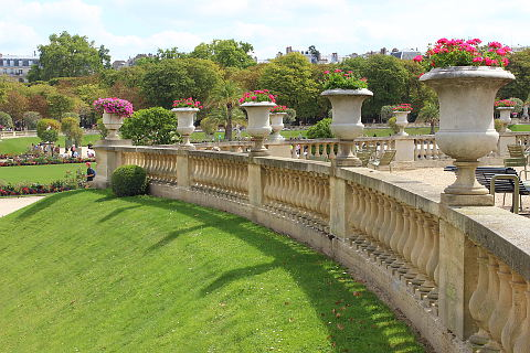 jardin du luxembourg balustrade - Jardin Du Luxembourg