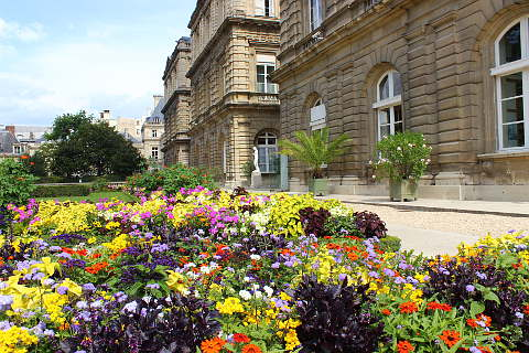 le jardin du luxembourg a garden in paris. Black Bedroom Furniture Sets. Home Design Ideas