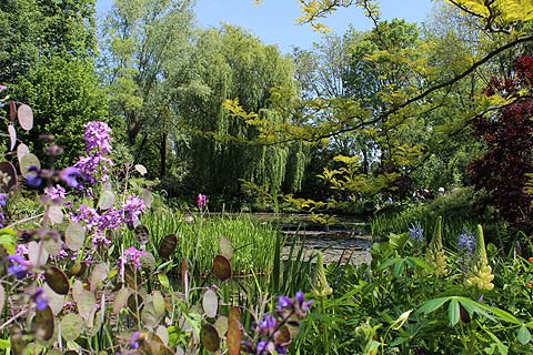 Monet\'s Garden at Giverny, France