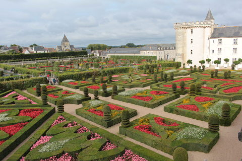Gardens of the Chateau de Villandry